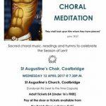 St Augustine's Choir Lenten Concert