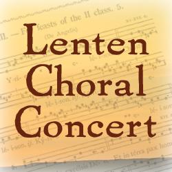 Lenten Concert 2015