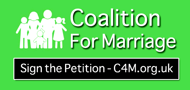 'Coalition for Marriage' Online Petition
