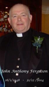 Rev. John Ferguson RIP
